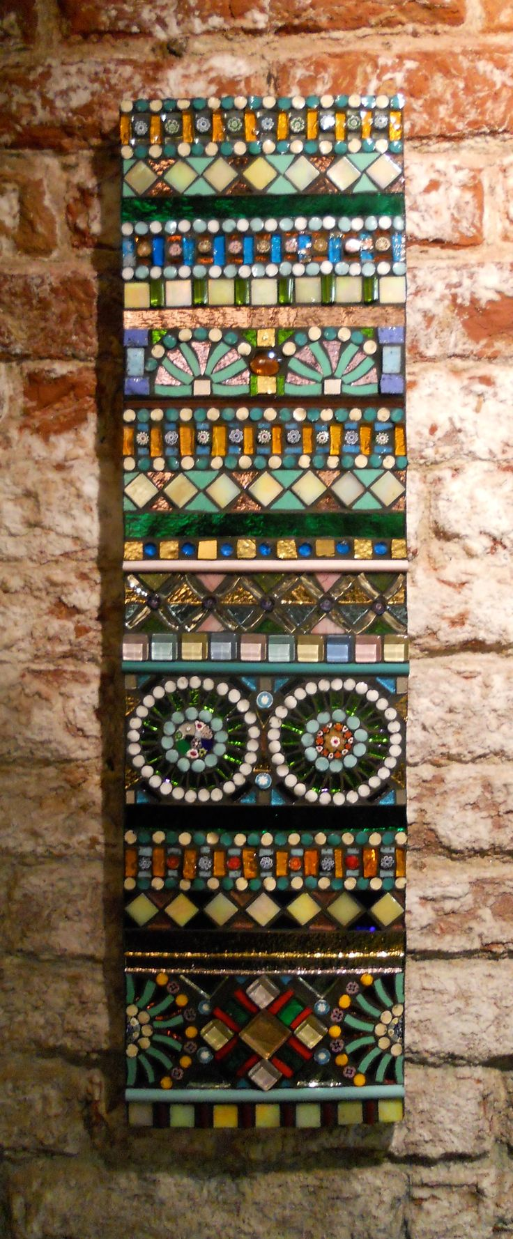 Murano Glass Mosaic by Ketty Parma of