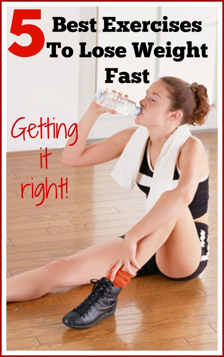Los mejores ejercicios para bajar de peso rápidamente