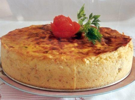 Receita de Torta de Batata - CyberCook Receitas