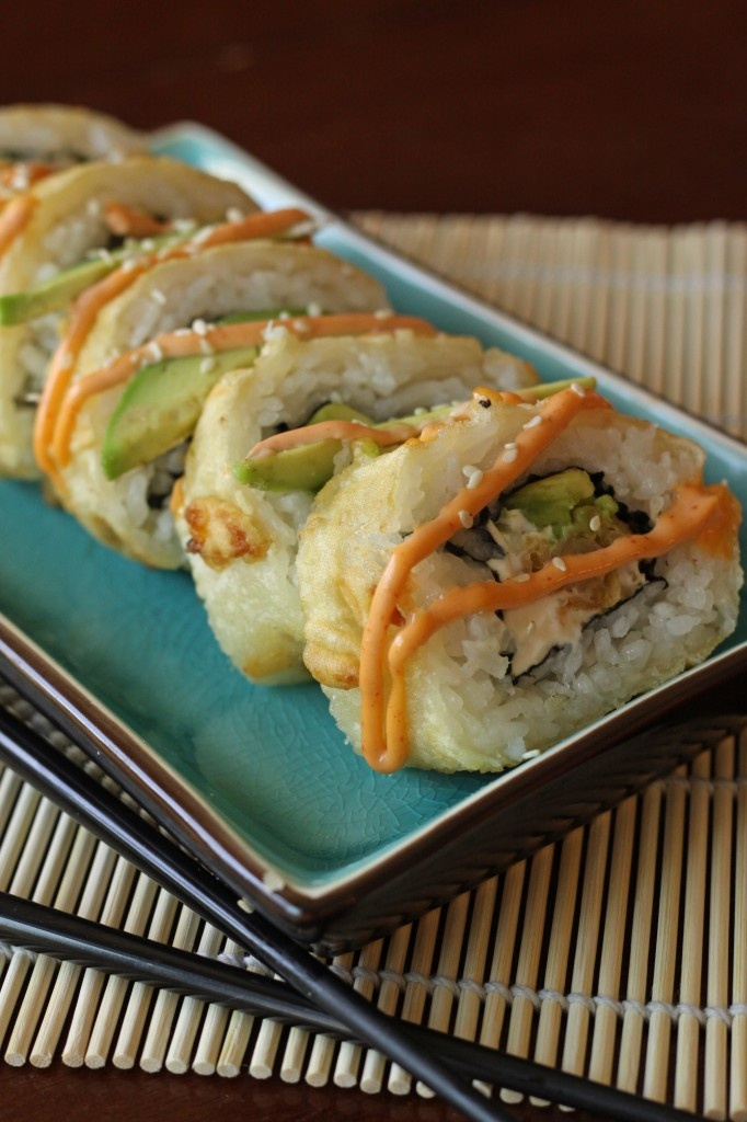 Godzilla Rolls!  I love sushi!!  Yummy  I wish I could make this.  I think I'll leave this one to the professionals.