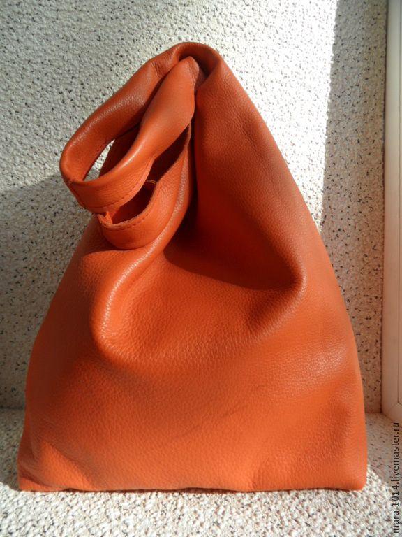 Купить Жареное Солнце Больших Городов - пакет, сумка, оранжевый - оранжевый, оранжевая сумка