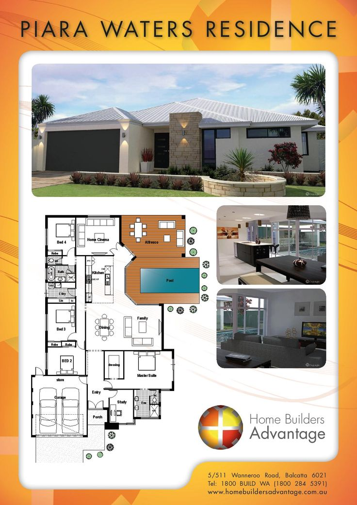 Home Builders Advantage- Perth's Biggest Building Broker- Single Storey Home Designs-www.homebuildersadvantage.com.au