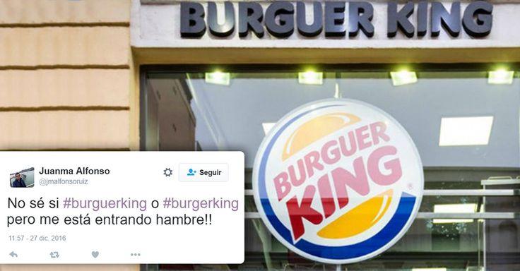 En el día de los inocentes la marca Burger King en España decidió trolear al público con la broma más épica del 2016: ¡ahora Burguer King se escribe con U!
