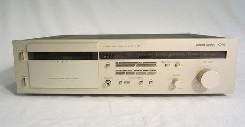 Harmon Kardon CD 91 Ultra Wideband Linear Phase Cassette Deck | eBay