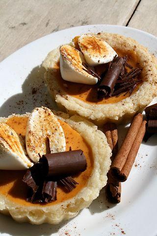 Pumpkin Chai Tarts
