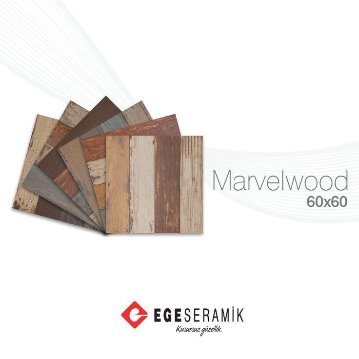 Trend renklerin hâkim olduğu Marvel Wood serisi, alternatif döşeme seçenekleri ile kendi tarzınızı yansıtma fırsatı sunuyor.