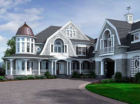 Okay, I have looked at this house a billion times and wished it was mine. It's similar to the Chatham, but has more bedrooms. Love, love, love. Totally going to be my house some day.