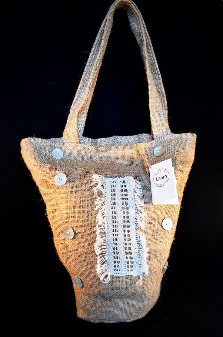 "Handmade ""gondola"" style Loom bag"