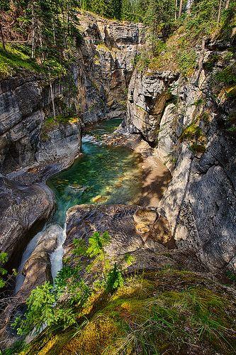 Maligne Canyon, Jasper National Park - Alberta, Canada