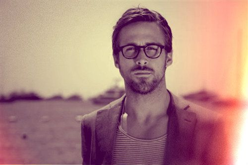 Ryan Gosling, you're pretty and you have a lovely voice. stop being adorable.This Man, Ryan Gosling, Girls, Ryangosling, Schools, Glasses, Teachers Appreciation, Desks, Boyfriends