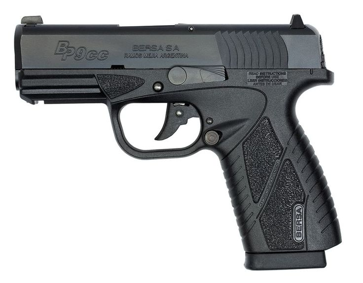 The BPCC is BERSA's first polymer frame handgun, with more advanced features, specially designed for concealed-carry personal protection. The BPCC provides accuracy and fire power in a lightweight, compact, ultra thin handgun. Using advanced manufacturing processes and finest quality materials, the BPCC reflects BERSA's commitment to value and performance. The BPCC's ergonomic design improves line-of-sight and provides greater control during use. BPCC's retail for about $400.