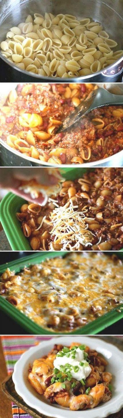 Chili Pasta Bake