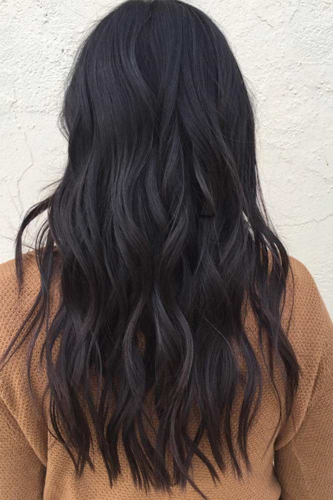 Color Trendy Hair Color Dark Brown Hair Color Adds A