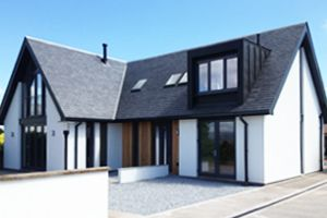 New Build ECO HOUSE: Smithy Cottage, Laurencekirk | AXN Architects Glasgow