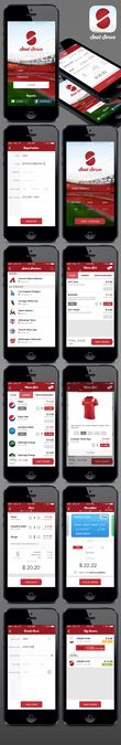 Design the coolest app a Fan could use! by ozonestyle