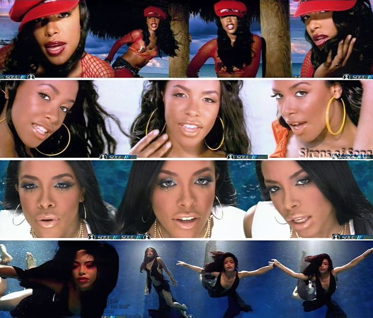 Aaliyah for MAC, favorite makeup looks -  Aaliyah - Rock The Boat makeup looks