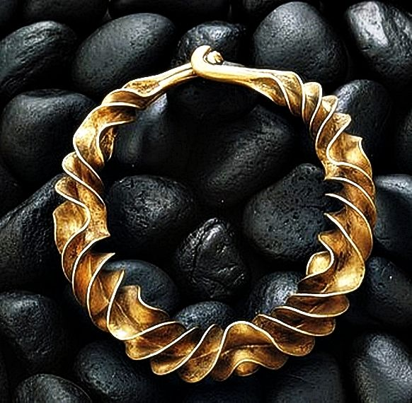 600 BC necklace found in a Danish Bog.                              …                                                                                                                                                                                 More