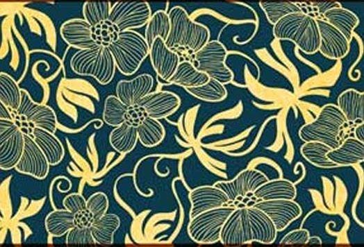 European-Art-Deco-Floral-Pattern | pattern | Pinterest