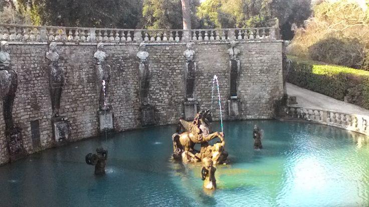 Fontana del Pegaso, Villa Lante
