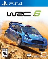 Boxshot: WRC 6 by Bandai Namco Entertainment America Inc.