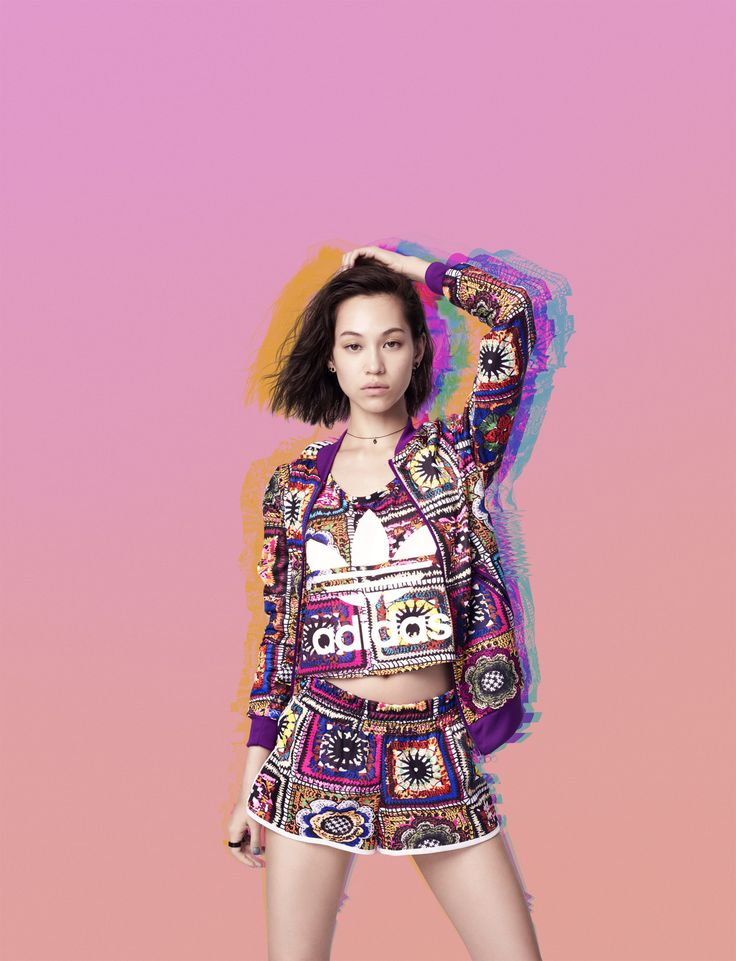 Kiko Mizuhara for Adidas Originals Campaign 2016