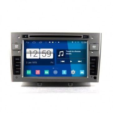 Radio Voiture Android 4.4.4 Autoradio Peugeot 408 / 308 Poste DVD GPS USB Bluetooth écran tactile 4G IPOD Iphone Wi-Fi