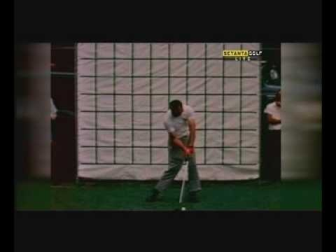 Early footage  Arnold Palmer swing