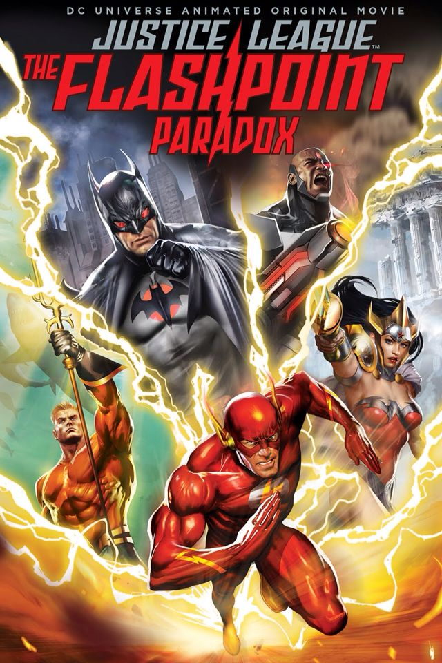 Justice league: the flash point paradox 2013