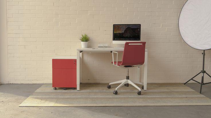 An Elsafe Qiksilva desktop power unit with a selection of beautiful furniture. www.elsafe.com.au  #Elsafe #Furniture #Design