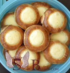 Ρώσικα πιτάκια με γέμιση από γιαούρτι | Sugar & Breads in Greece
