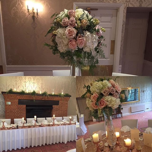 We are all set up @tylneyhallgardens for the wedding showcase today 10am-4pm #weddinginspiration #weddingflowers #hampshire #tylneyhall