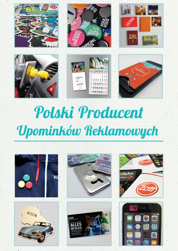 Katalog 2016 - Producent Upominkow Reklamwoych PinkiPrzypinki.pl