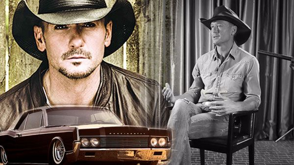 """Tim McGraw- """"Lincoln Continentals and Cadillacs"""" is an entertaining song recorded by Tim McGraw and Kid Rock. After recording his vocals, Tim had a thought: You know who..."""