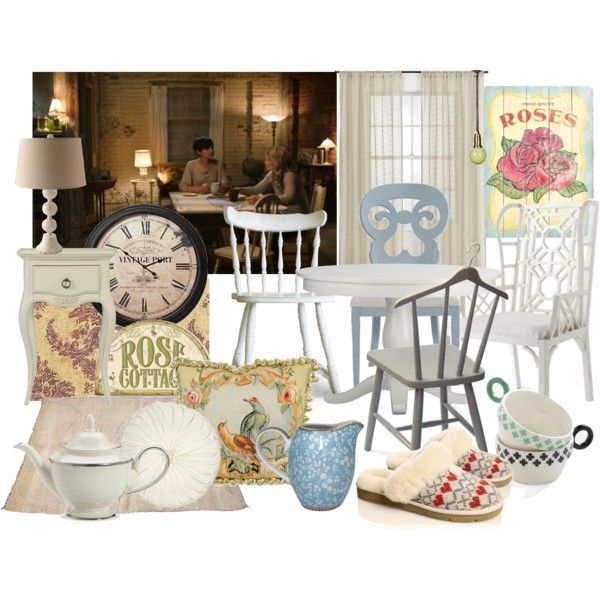 Once Upon A Time Home Decor Part - 16: Mary Margaretu0027s Dining Room, Once Upon A Time