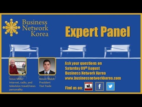 Appearing at Business Network Korea