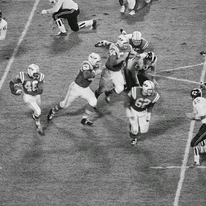 TBT: The first Patriots game EVER - vs. Denver in 1960. We'll meet for the 53rd time this Sunday on Sunday Night Football on NBC.