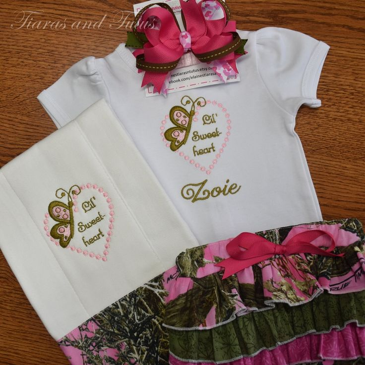 49 best beautiful burp cloths and bibs images on pinterest burp personalized baby gift set pink camo baby gift bringing home baby outfit burp negle Gallery