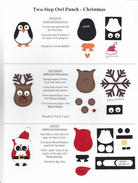 KREATION KORNER: Owl Punch Art