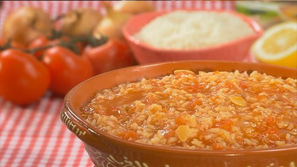Arroz malandrinho de tomate