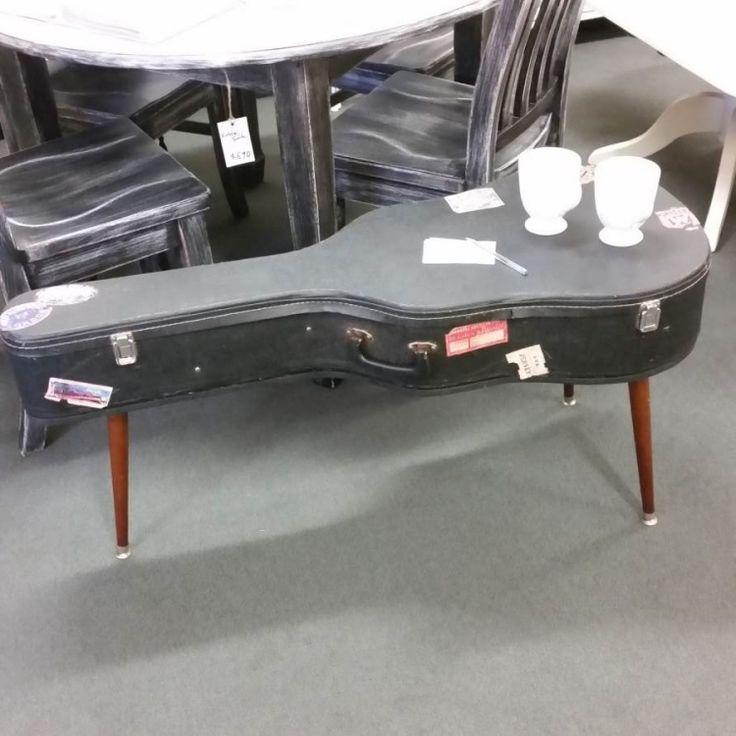 Kreative Mobel Selber Bauen Ideen Gitarre Gitarrenhuelle Tisch