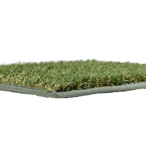 It is the original high quality Easy Turf Go Mat!  Easy Turf Go Mat for the Airstream patio or entry. The Easy Turf Go Mat transforms your outdoor space into a home away from home. This neatly bound mat not only provides a soothing outdoor living space, it keeps the fine dust, dirt, sand, and dog hair from blowing over your campsite and entering your trailer. Same high quality Easy Turf Field Turf used in football stadiums, this mat has a 3 year warranty and with the micro drilled holes…