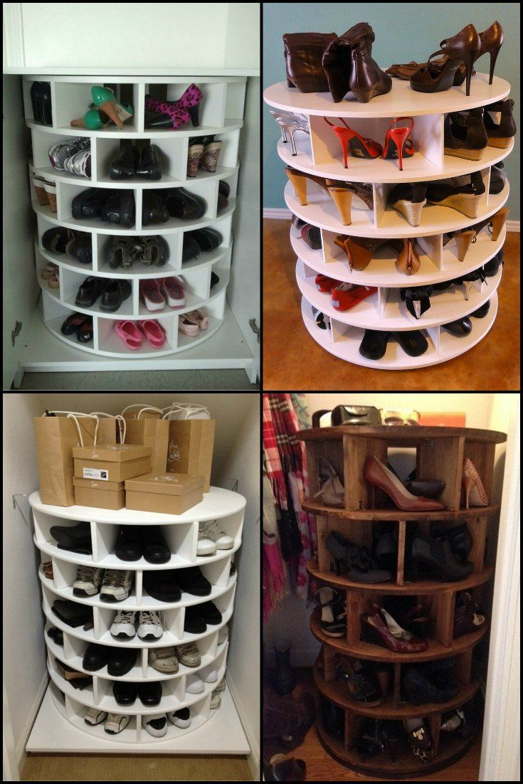 This storage idea keeps your shoes neat organized and for No closet solutions
