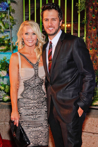 Luke Bryan and his VERY lucky lady Caroline Boyer