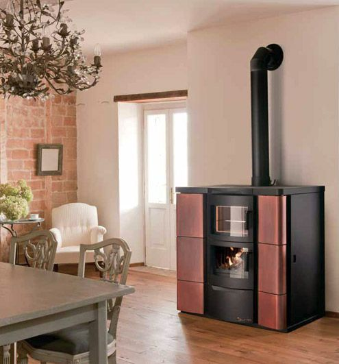 17 best estufas de pellet images on pinterest stoves for Stufe combinate legna pellet palazzetti