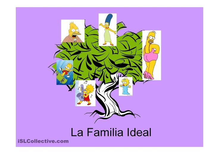 La Familia Ideal Simpson