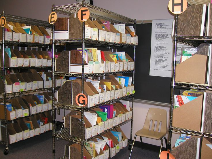 Leveled Book Rooms Elementary School | Leveled book library | Debbie Diller