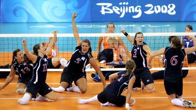 sitting volleyball how to play