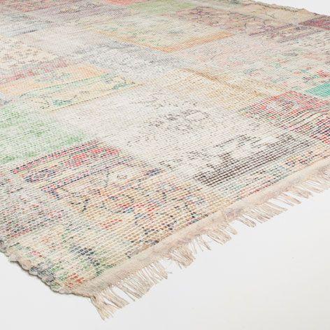 Alfombra estampado patchwork alfombras decoraci n - Alfombras animal print ...