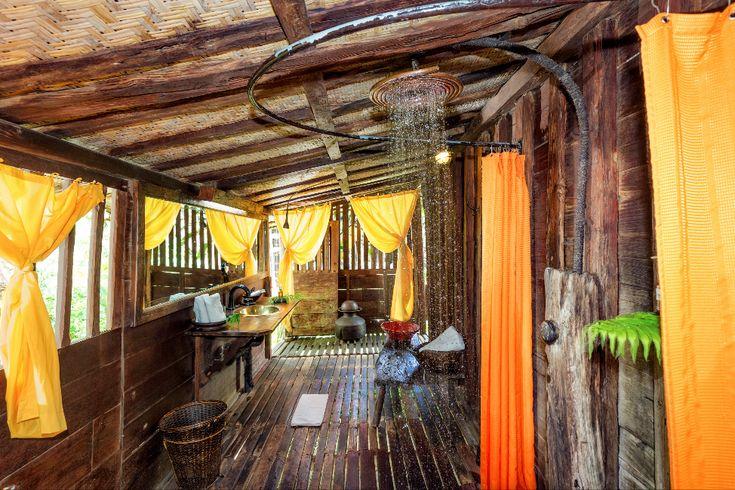 Amazing Bali style bathroom