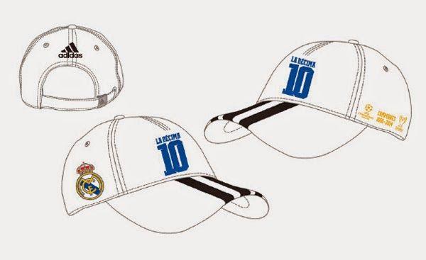 Real Madrid Gorra Campeones de Europa 2014 - La Décima